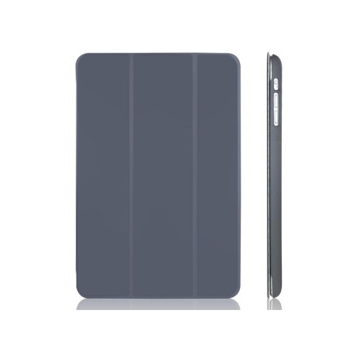JETech Apple iPad Mini and iPad Mini 1/2/3 All Models Slim-Fit Folio Case Cover with Auto Sleep/Wake Feature (Dark Grey)