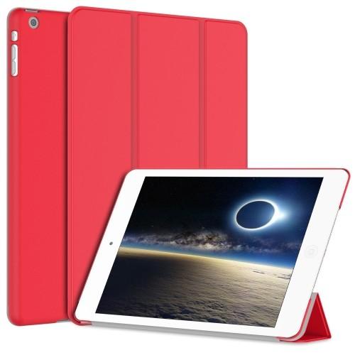 iPad Mini 3 Case, JETech® iPad Mini 1/2/3 All Models Slim-Fit Folio Case Cover with Auto Sleep/Wake Feature (Red)