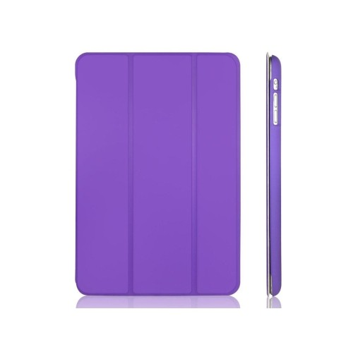 iPad Mini 3 Case, JETech® iPad Mini 1/2/3 All Models Slim-Fit Folio Case Cover with Auto Sleep/Wake Feature (Purple)