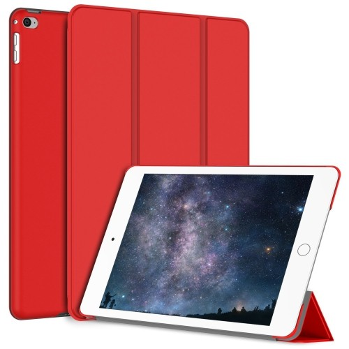 JETech Gold Serial Apple iPad Mini 4 Slim-Fit Folio Case Cover with Auto Sleep/Wake for Apple New iPad Mini 4(2015) (Red)