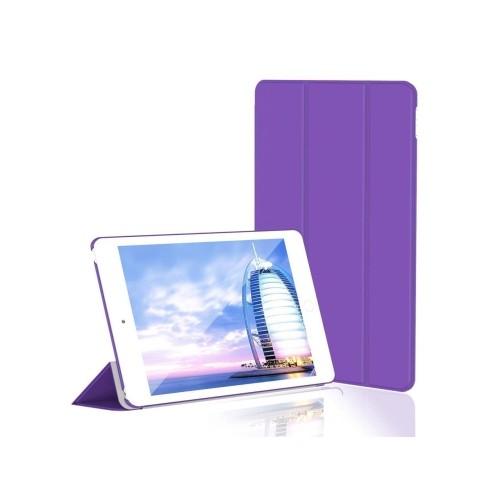 JETech Gold Serial Apple iPad Mini 4 Slim-Fit Folio Case Cover with Auto Sleep/Wake for Apple New iPad Mini 4(2015)(Purple)