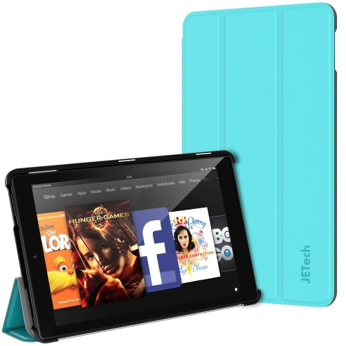 Fire HD 10 Case, JETech Standing Case Cover with Auto Sleep/Wake for Amazon Fire HD 10 (5th Generation - 2015 Release)(Blue)