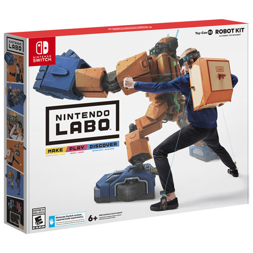 Ensemble robot Toy-Co Nintendo Labo (Switch)