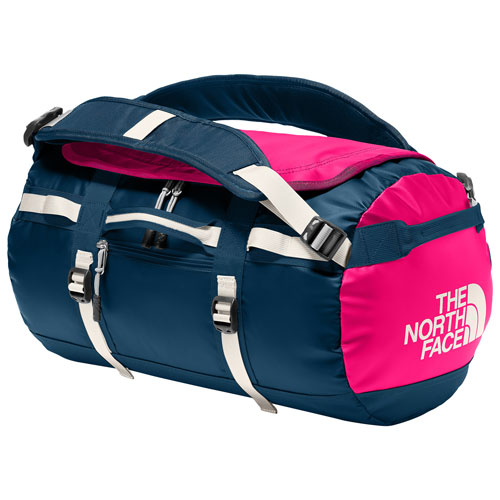 4a728788a810 The North Face Base Camp Laminate Duffle Bag - X-Small - Blue Wing  Teal Raspberry Red (NF0A3ETN3RB)   Duffle Bags - Best Buy Canada