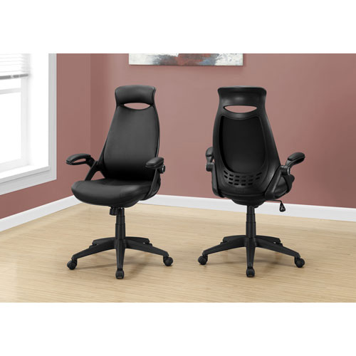 Monarch Faux Leather Executive Chair - Black  Office Chairs - Best Buy Canada  sc 1 st  Best Buy Canada & Monarch Faux Leather Executive Chair - Black : Office Chairs - Best ...