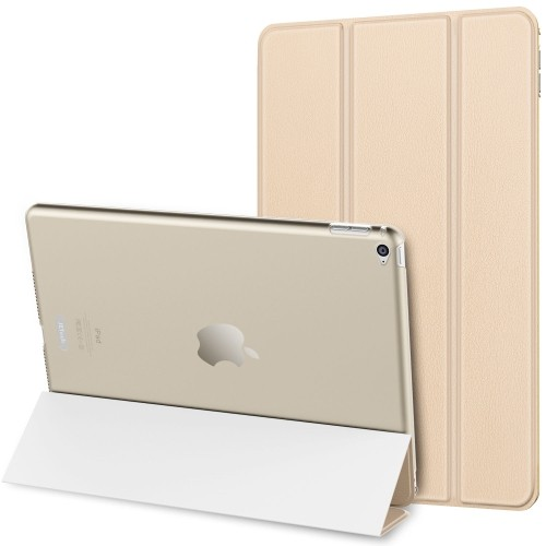 JETech iPad Air 2 Case Slim-Fit Smart Case Cover for Apple iPad Air 2 Second Edition w/Auto Sleep/Wake (Gold)
