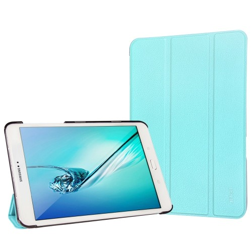 Tab S2 8.0 Case, JETech® Gold Slim-Fit Case Cover for Samsung Galaxy with Auto Sleep/Wake Feature (Blue)
