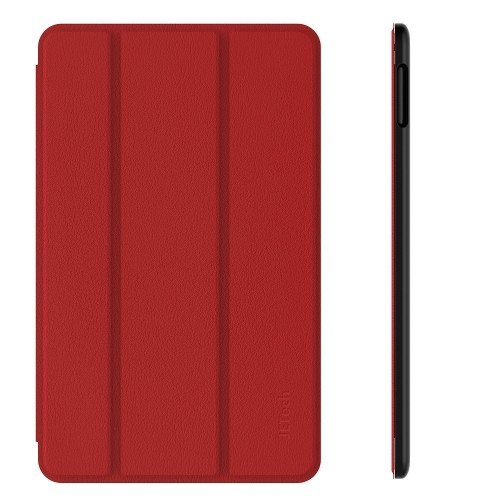 Fire HD 10 Case, JETech Standing Case Cover with Auto Sleep/Wake for Amazon Fire HD 10 (5th Generation - 2015 Release) (Red)