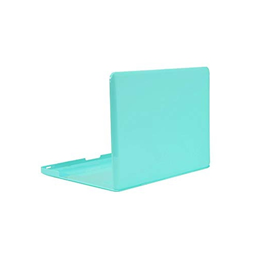 Unik Case-13 Inch Crystal Hard Case for Old Generation Macbook Pro 13' with DVD Drive A1278 Shell Cover-Hot Blue