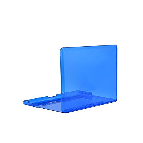 """Unik Case-13 Inch Crystal Hard Case for Old Generation Macbook Pro 13"""" with DVD Drive A1278 Shell Cover-Royal Blue"""