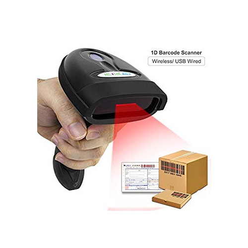 NETUM Wireless Barcode Scanner 2 4GHz Handheld Cordless Bar-Code Reader USB  Rechargeable Wireless Wired for Laptop Computer PO