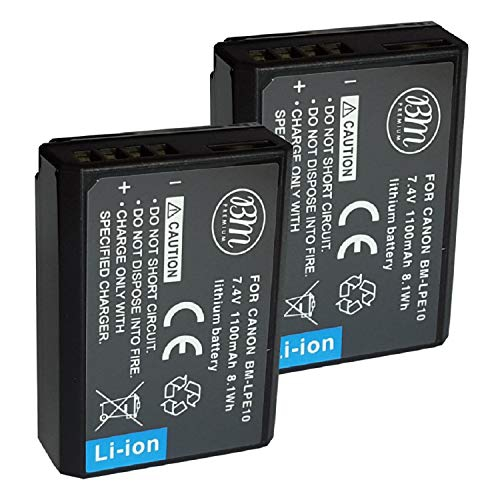 Camera Batteries: Lithium Replacement & Rechargeable | Best