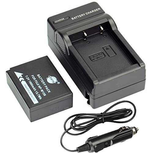 Dual Charger for Fujifilm Finepix HS30 HS30EXR HS33EXR NP-W126