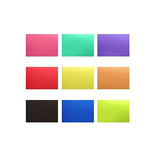 Neewer Correction Gel Light Filter Transparent Color 12x8 5 Inches 30x20 Centimeters 18 Sheet With 9 Colors Red Blue Pink Cya Best Buy Canada