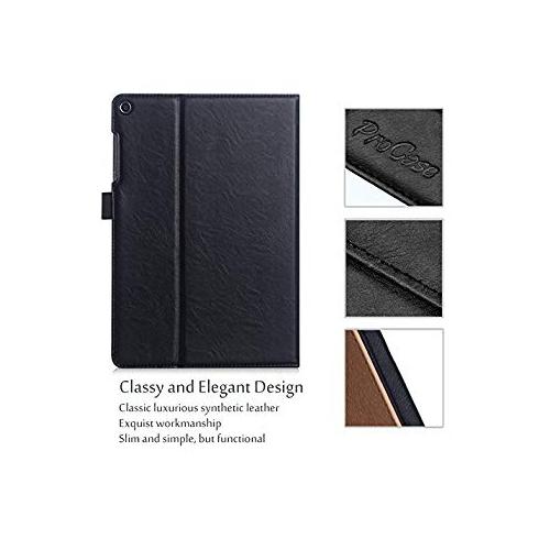 sports shoes dae37 1a4fd ProCase ASUS ZenPad 3S 10 Z500M Case - Stand Cover Folio Case for ASUS  ZenPad 3S 10 Tablet -Black