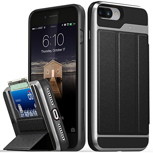 Iphone 8 Plus Wallet Case Iphone 7 Plus Case Vena Vcommute Military Drop Protection Flip Leather Cover Card Slot Holder Best Buy Canada