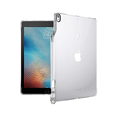 meet d804f d3e8d Poetic Lumos Flexible Soft Transparent Ultra-Thin Impact Resistant TPU Case  for Apple iPad Pro 10.5 Crystal Clear