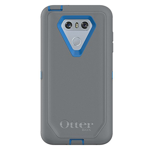 finest selection b9ae0 037d6 Otterbox Fitted Hard Shell Case for LG G6 - Gunmetal Gray;Blue