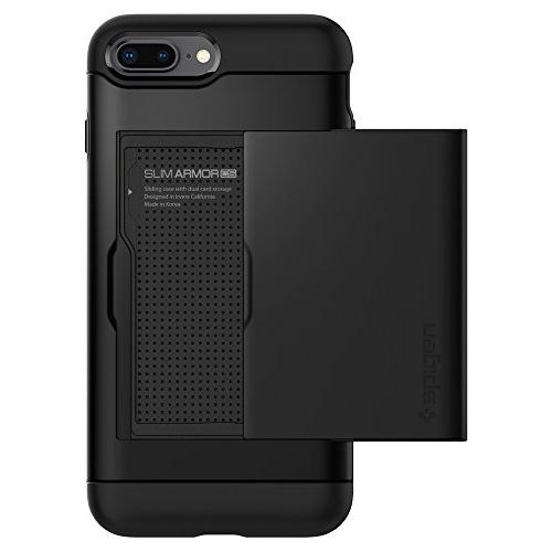 Giveaway iphone 7 case with card holder spigen