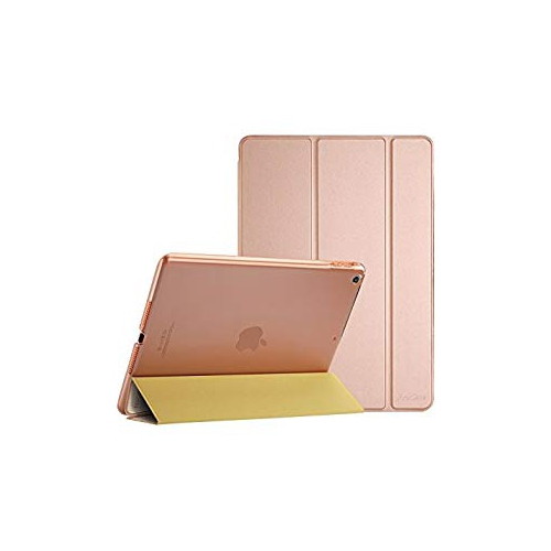 ProCase Apple iPad Case 9.7' 2017 - Ultra Slim Lightweight Stand Smart Case with Translucent Frosted Back Cover for 2017 New A