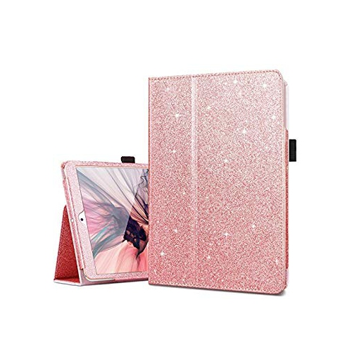 iPad Mini Case, iPad Mini 2 Case, iPad Mini 3 Case, Fingic Sparkly Smart Case Cover for Kids Girls Folio Folding Stand Cover w