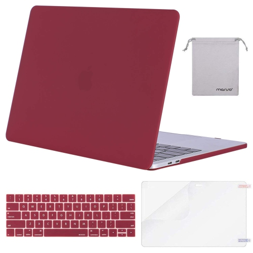 Mosiso MacBook Pro 13 Case 2017 & 2016 Release A1706/A1708, Plastic Hard Case Shell with Keyboard Cover with Screen Protector