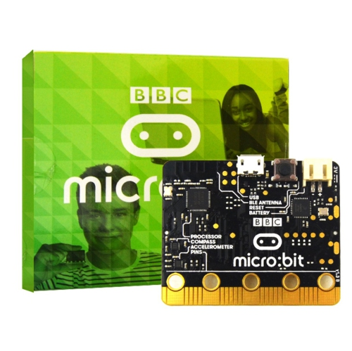 Micro:bit micro-controller with Motion Detection compass LED Display and  Bluetooth