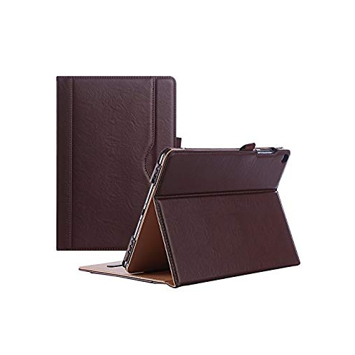 ProCase ASUS ZenPad 3S 10 Z500M Case - Stand Cover Folio Case for ASUS ZenPad 3S 10 Tablet -Brown