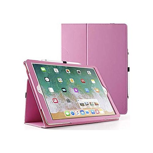 Poetic SlimFolio iPad Pro 12.9 Folio Case Slim Leather Stand Folio Case with Auto Wake / Sleep for Apple iPad Pro 12.9 (1st Ge