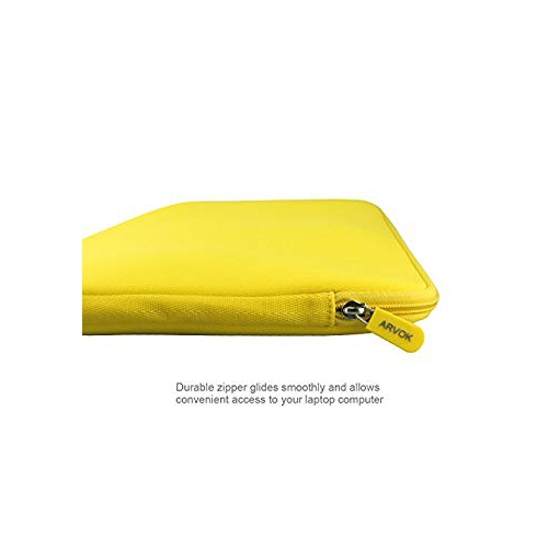 Arvok 15 15.6 16 Inch Water-Resistant Neoprene Laptop Sleeve Case Bag// Notebook
