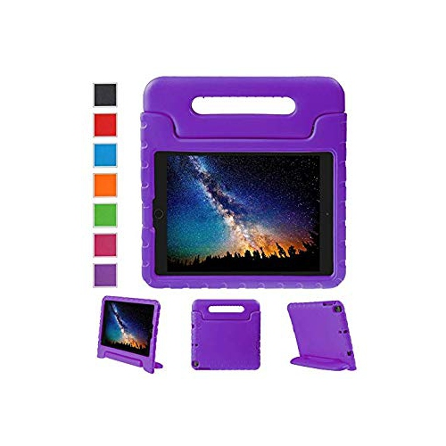 NEWSTYLE iPad 9.7 inch 2017 Kids Case Shockproof Stand Cover with Built-in Handle for Children for Apple New iPad 9.7-inch Pur
