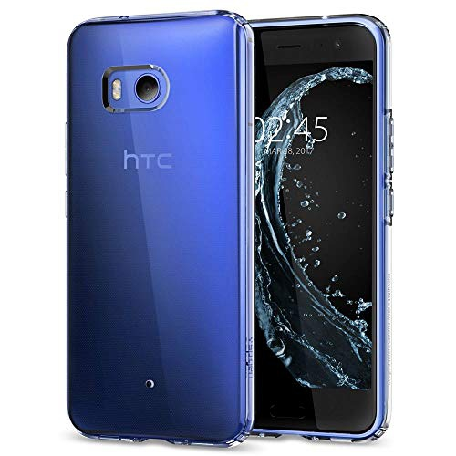 Spigen Liquid Crystal HTC U11 Case with Slim Protection and Premium Clarity for HTC U11 (2017) - Crystal Clear