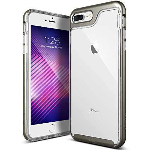 info for f3ee4 0b5a5 Caseology Fitted Hard Shell Case for iPhone 8 Plus - Warm Gray;Clear