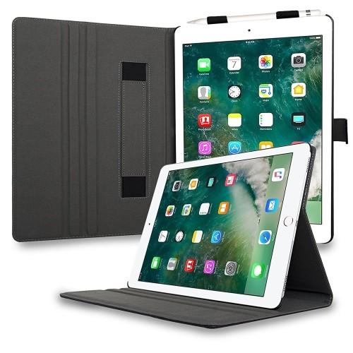 Navor Leather Case Of iPad Pro 12.9 with Kickstand Function -Navy Blue