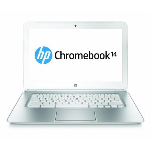 HP CHROMEBOOK 14 SMB CELERON 2955U 1.4 GHZ 4GB 16SSD14.0 CHROME OS WEBCAM 1YR - Refurbished