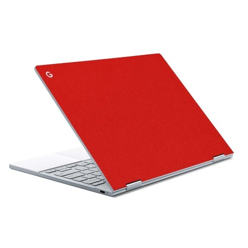 7 Layer Skinz Custom Skin Wrap for Google Pixelbook (Red)