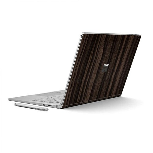 7 Layer Skinz Custom Skin Wrap for Microsoft Surface Book (Ebony)