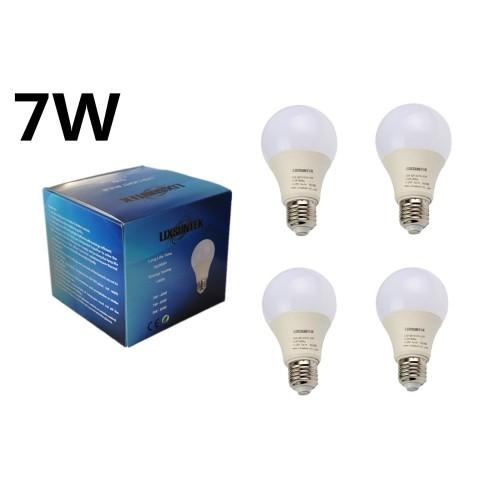 LIXSUNTEK 4-pack 7W LED Bulb Light 500 Lumens 6500K Daylight White E26 crew Base : Light Bulbs - Best Buy Canada