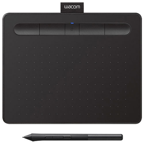 """Wacom Intuos 6.0"""" x 3.7"""" Graphic Tablet with Stylus - Black"""