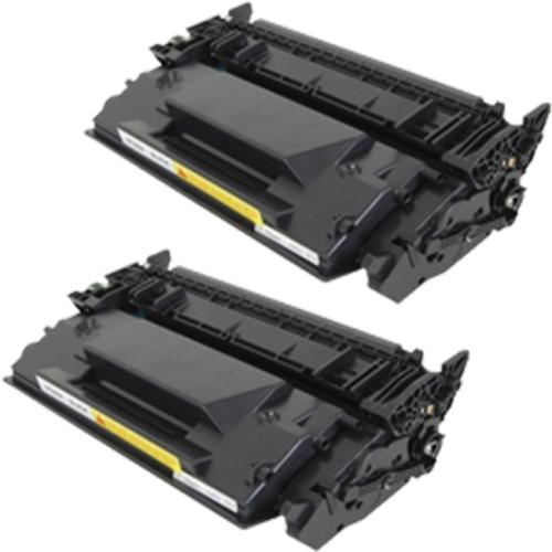 2pk CF226X 26X High Yield Black Toner Cartridge