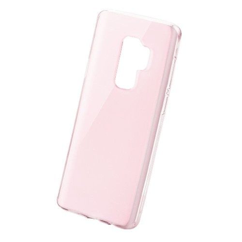 Insten Gel Transparent Cover Case For Samsung Galaxy S9 Plus, Rose Gold
