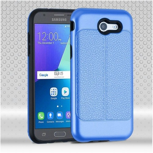 Insten Hard Case For Samsung Galaxy J3 (2017)/J3 Eclipse/J3 Emerge/J3 Luna Pro/J3 Mission, Dark Blue