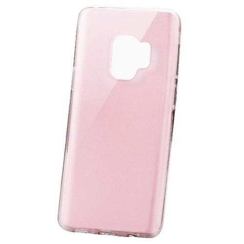 Insten TPU Transparent Case For Samsung Galaxy S9, Rose Gold