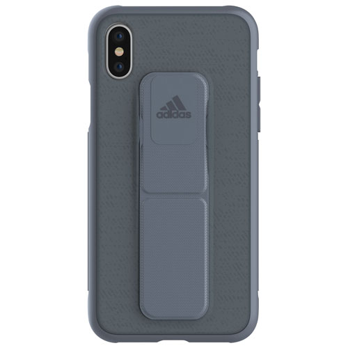Adiós Abreviar Mil millones  Adidas Grip Fitted Hard Shell Case for iPhone X - Steel | Best Buy Canada