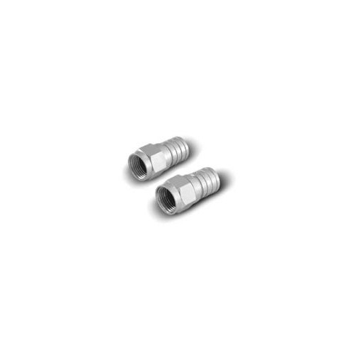 RG6 - Compression F Connector w/O-Ring (10pcs/Bag)