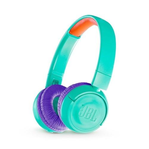 JBL Wireless On-Ear Headphones For Kids (TEAL) : On-Ear Headphones