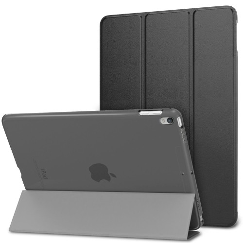 "MiiU (TM) IPAD PRO 10.5"" 2017 SMART Magnetic CASE WITH HARD BACK COVER BLACK (400-331) A1701 A1709"