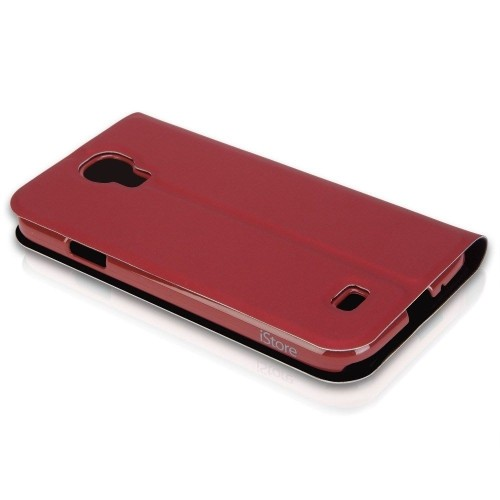 buy online f867f 7812b Targus Folio Case for Samsung Galaxy S4 - Red