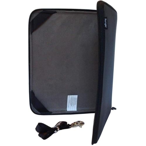 Ranger Explorer Hard Shell Protective iPad/Notebook Case - Black