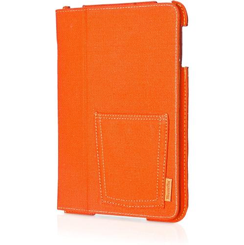 XtremeMac Case for Apple iPad Mini 1 / 2 Orange denim + Free Screen Protector